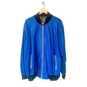 Custom Mesh Jersey Bomber Jacket